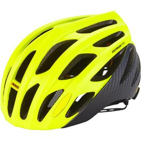 Mavic Ksyrium Pro MIPS Kask rowerowy Mężczyźni, czarny/żółty
